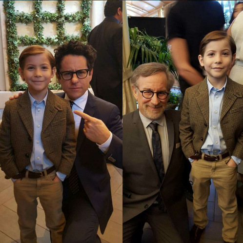 "Jacob described the aftermath of meeting renowned directors J.J. Abrams and Steven Spielberg as: ""The mind of me right now is so blown.""