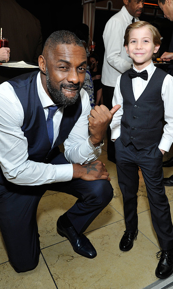 The <i>Room</i> actor twinned with his new friend Idris Elba at the 2016 SAG Awards. 
