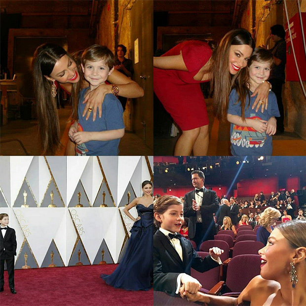 Jacob posted the most adroable message to his pal Sofia Vergara following the 2016 Oscars. 