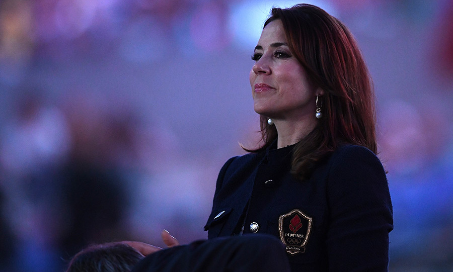 Princess Mary of Denmark looked on at the Rio Ceremony.<br> 