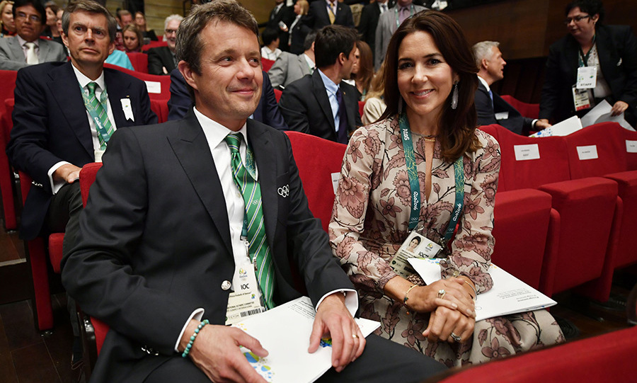 Princess Mary and husband Prince Frederik in Rio.<br>