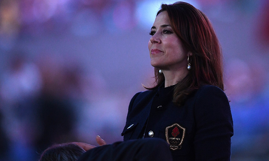 Princess Mary of Denmark attended the Rio Olympic Opening Ceremony.<br>