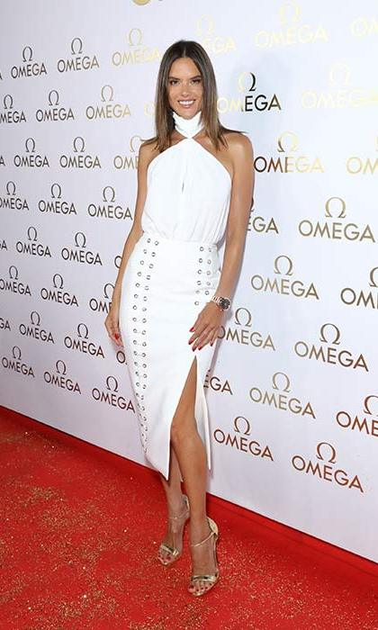 <p>Alessandra attended the opening of OMEGA House in Rio over the weekend, where she discussed her pride that her home country was hosting the Olympics.