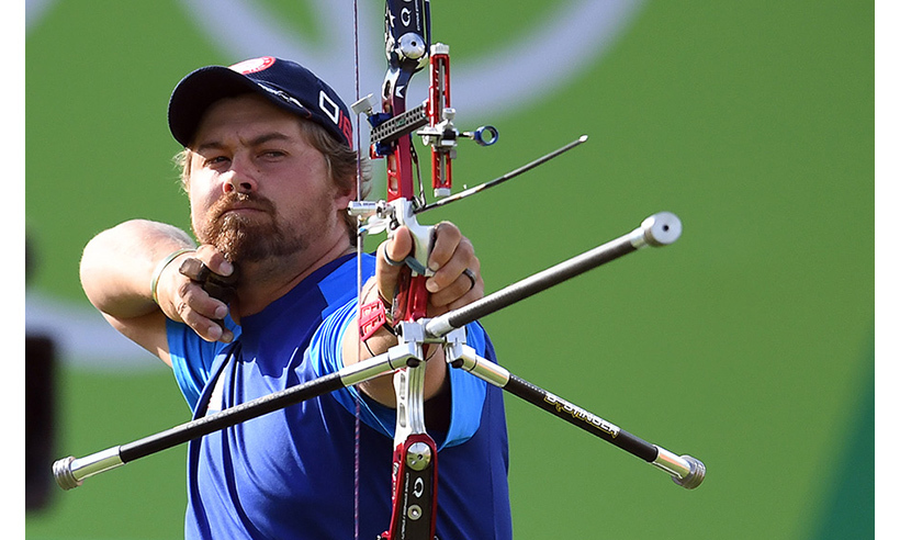 Brady Ellison caused quite a stir on social media on Saturday, and not just because he helped the US archery team win the silver medal. The 27-year-old bears an uncanny resemblance to Hollywood actor Leonardo DiCaprio!