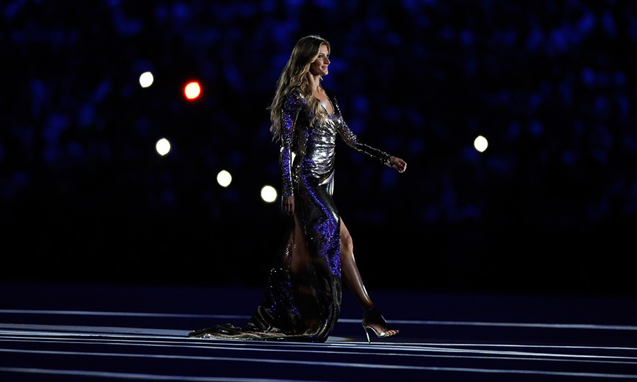 "Brazilian supermodel Gisele Bündchen dazzled as she walked down a sensational catwalk during the opening ceremonies on Aug. 5. She later opened up to <i>TODAY</i> host Natalie Morales about the emotional experience, saying, ""I was nervous. I just kept thinking to myself, 'I can't cry, I can't cry.' I just wanted to make the Brazilians proud, you know. Because they chose me to represent them, I didn't want to disappoint."" 