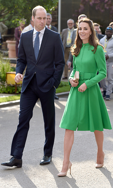 The royals reportedly stayed at the Hotel du Palais in Biarritz.