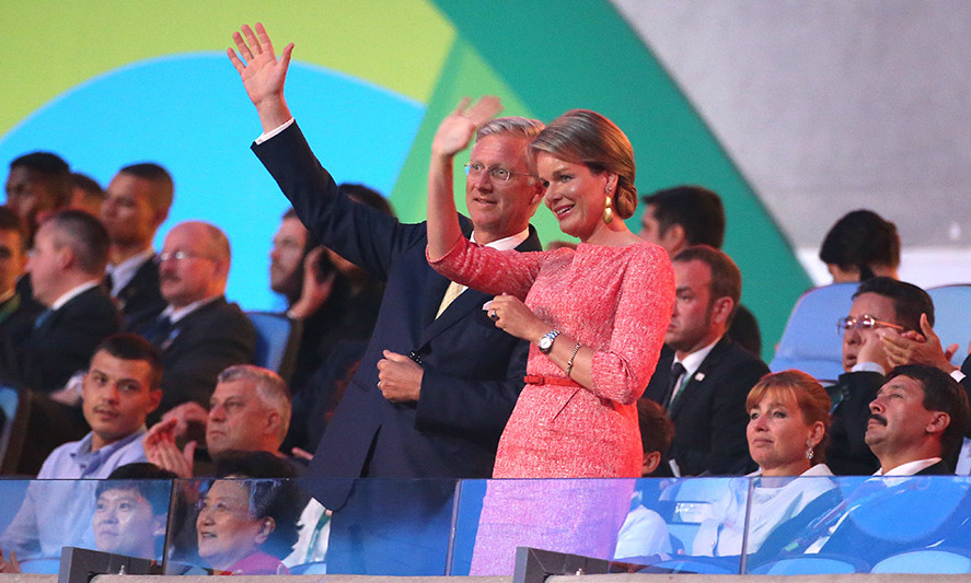 <p>King Philippe and Queen Mathilde of Belgium were also among the notable guests at the opening ceremony.