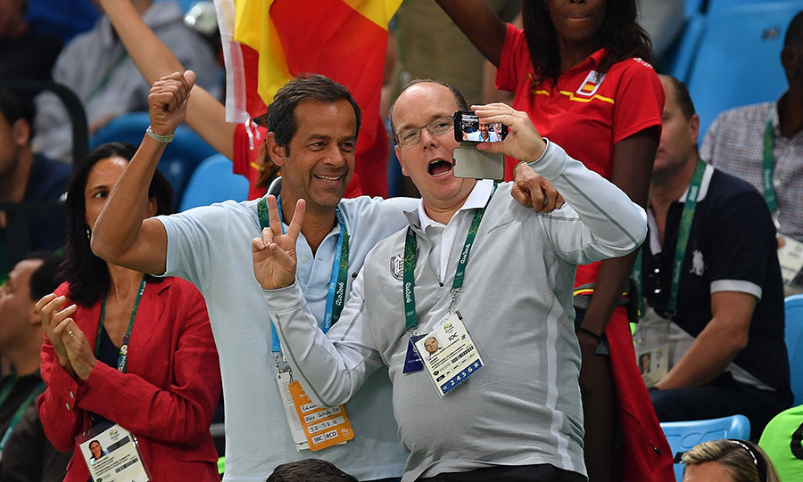 <p>Prince Albert of Monaco, a member of the International Olympics Committee, has been a regular fixture at various events.
