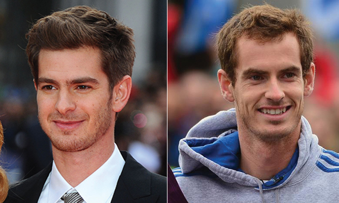 """To lead out Team GB will be an incredible honour, the biggest in sport,"" said Andy Murray after being selected as Great Britain's flag bearer. The tennis ace, who bears a striking resemblance to <em>Spiderman</em> actor Andrew Garfield, took home the gold for men's singles in the London 2012 games, so fans are eager to see him defend his title in Rio. We'll see if his spidey senses are tingling on the court!