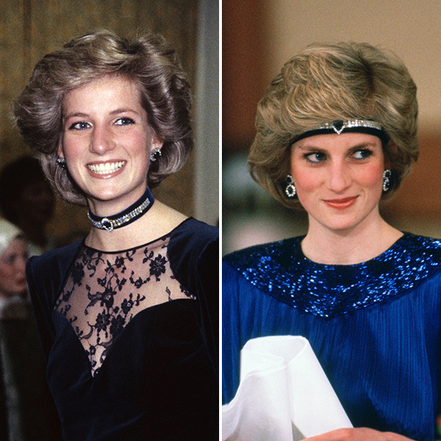 Diana took the choker to new heights when she turned a sapphire piece, which she received as a wedding gift from the crown prince of Saudi Arabia, into a headband. 