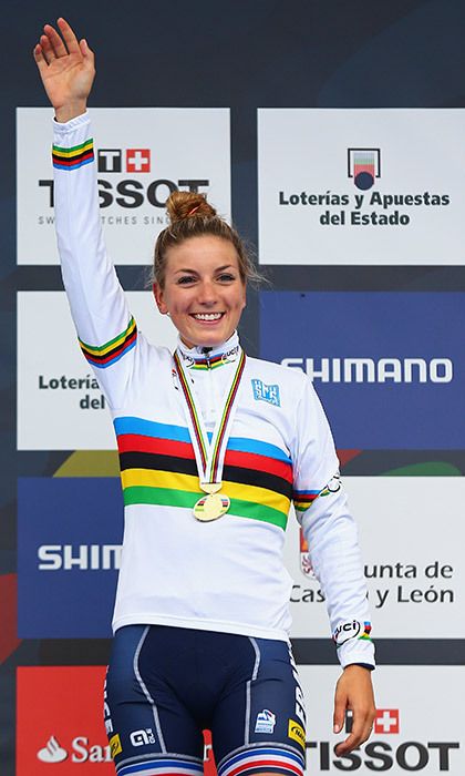 French cyclist Pauline Ferrand-Prevot bears a striking resemblance to the Duchess of Cambridge.