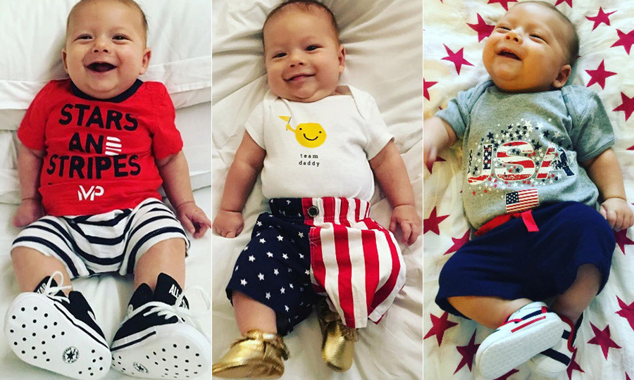 <p>Michael Phelps and Nicole Johnson's baby boy Boomer is his daddy's number-one fan! The three-month-old even accompanied his parents to Rio to cheer on Michael, the most decorated Olympian of all time. </p><p>Boomer, who has his own Instagram account, proudly sported his stars and stripes for Team USA during the Olympics and since returning home has continued to be picture perfect. Click through to see little Boomer's cutest snaps. </p>