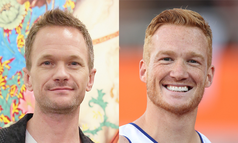 As one of Britain's top track and field athletes, Greg Rutherford is normally seen in sporty gear, but when he dons a suit he's likely to be mistaken for Barney Stinson – Neil Patrick Harris's alter ego on <em>How I Met Your Mother</em>. The pair could easily be twins with their similar face shape, hair colour, broad smile and a flair for unrivalled talent. Greg won a gold medal during the 2012 Olympics and another one could soon be within reach at Rio!