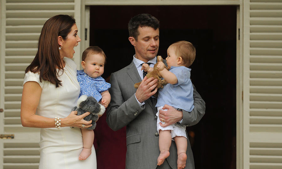 "The prince described their arrival as a ""miracle times two.""