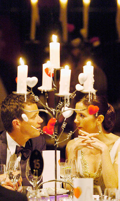 <p>The couple shared a special moment at a gala in March 2005 in her home state of Tasmania.