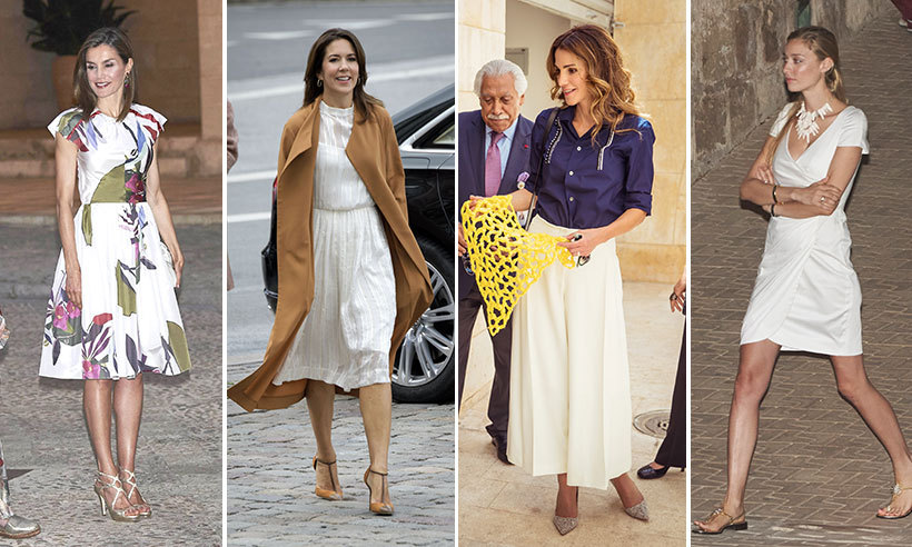 Week S Best Royal Style Queen Rania Princess Mary And