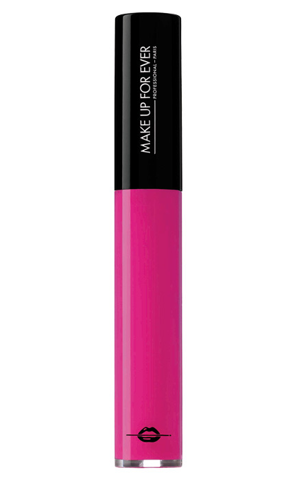 <strong>Make Up for Ever Artist Plexi-Gloss in Fuchsia Pink</strong>, $24, at <em>Sephora</em>