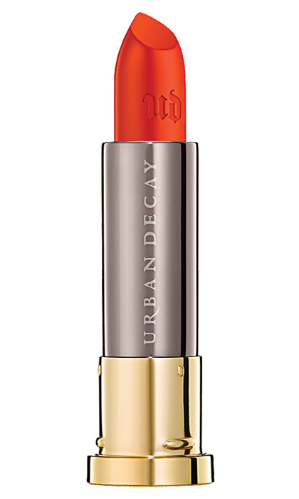 <strong>Urban Decay Vice Lipstick in Crash</strong>, $21, at <em>Sephora</em>