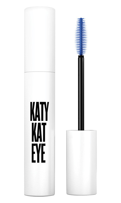 <strong>CoverGirl Katy Kat Eye Mascara in Perry Blue</strong>, $10, at drugstores and mass-market retailers