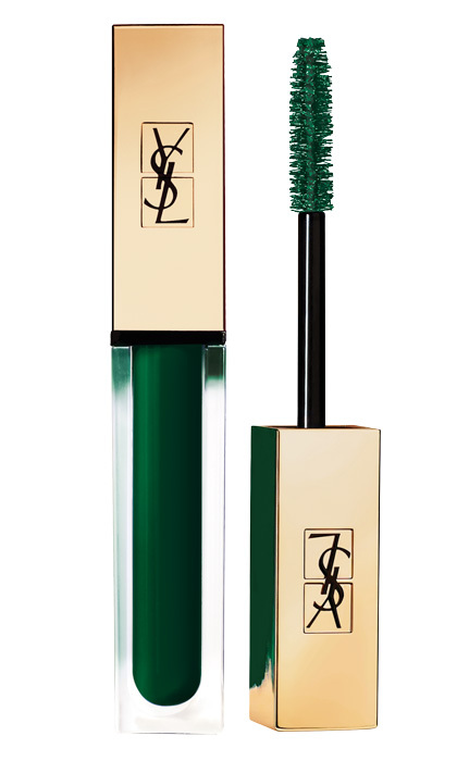 "<strong>YSL Mascara Vinyl Couture in I'm the Excitement Green</strong>, $39, at Holt Renfrew, Hudson's Bay and Sephora, <a href=""http://yslbeauty.ca"" target=""_blank""><em>yslbeauty.ca</em></a>"