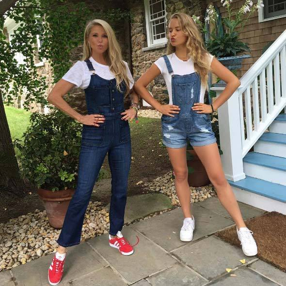 Christie Brinkley and Sailor Brinkley Cook. 