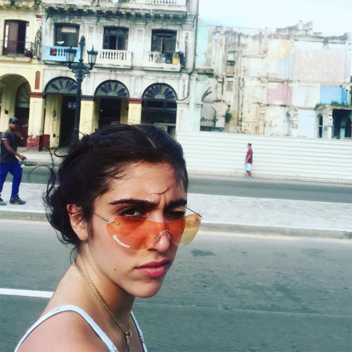 "Their tour of Havana must have been especially fun for Lourdes, whose father Carlos Leon is Cuban. On Wednesday Madonna posted a photo of her daughter, captioned: ""La Cubanita es Bonita."""