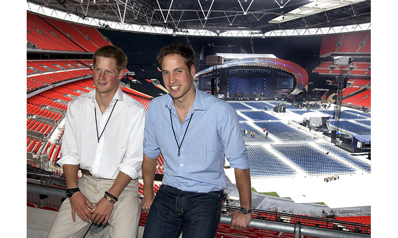 On what would have been Diana's 46th birthday on July 1, 2007, William and Harry hosted a concert at Wembley Stadium to celebrate her life and raise money for her charities.