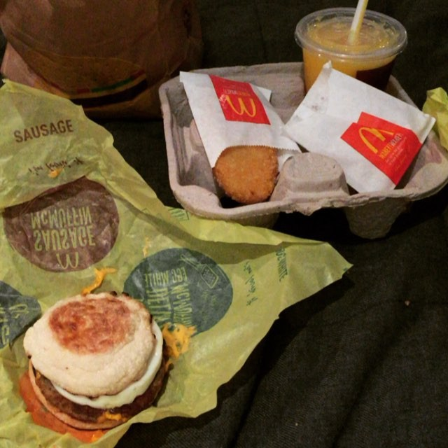 "She jokes about things that aren't real (but we wish were). ""McDonald's low-carb secret menu. You're welcome."" 