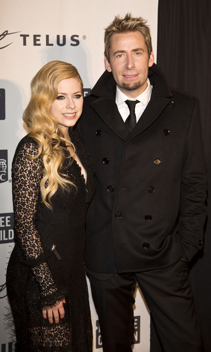 Avril and Chad announced their split in Sept. 2015. 