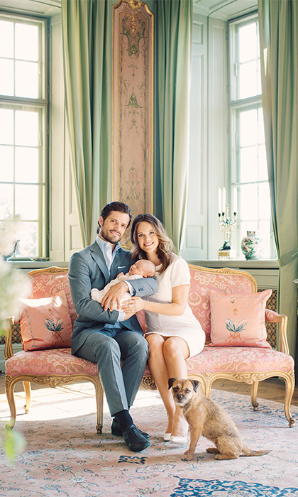 This is the first child for Carl Philip and Sofia, who married last summer.