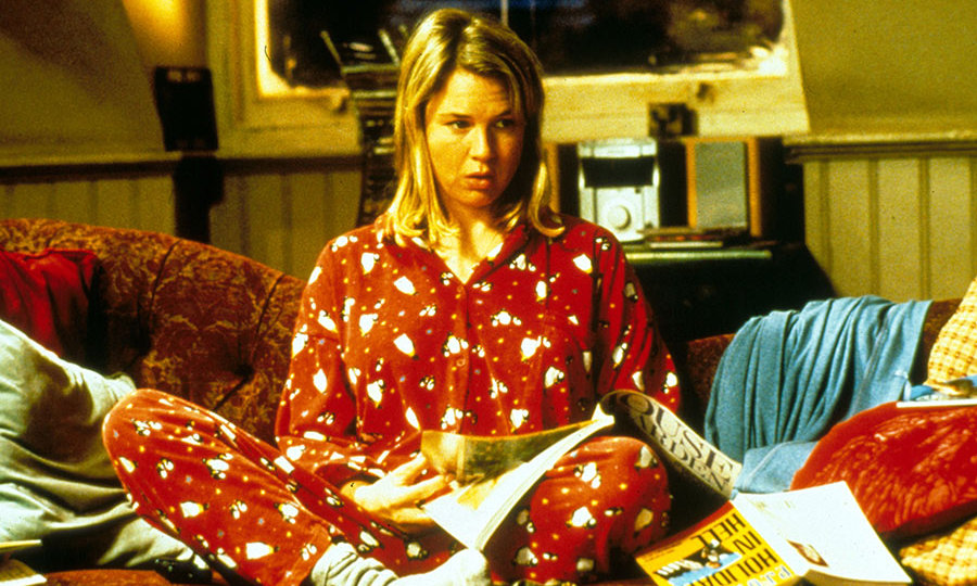 The actress famously put on 15kg to play Bridget Jones in the first movie, back in 2001.