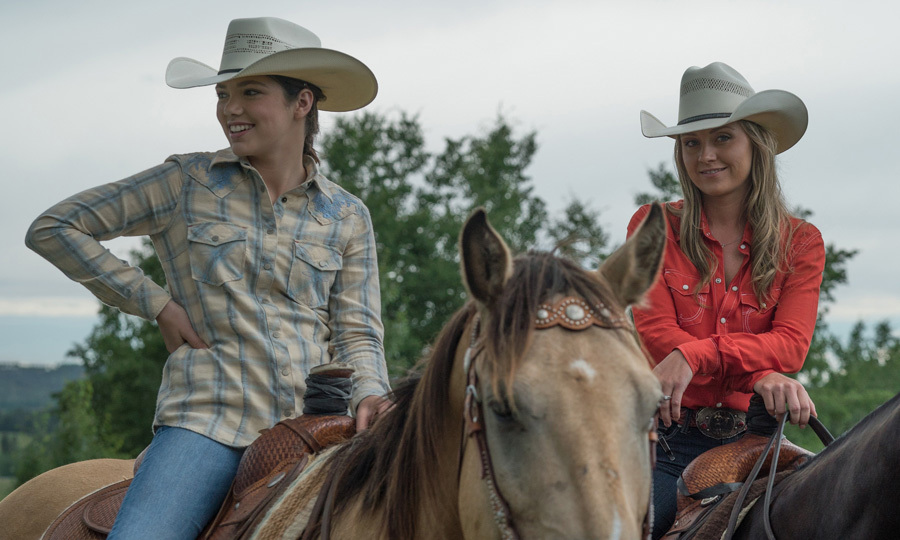 "<span style=""font-size: larger; font-weight: bold;"">HEARTLAND</span><br><span style=""font-size: large;""><strong>PREMIERE</strong> Oct. 2, CBC</span>