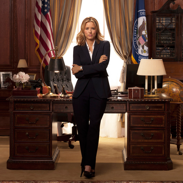 "<span style=""font-size: larger; font-weight: bold;"">MADAM SECRETARY</span><br><span style=""font-size: large;""><strong>PREMIERE</strong> Oct. 2, Global</span>