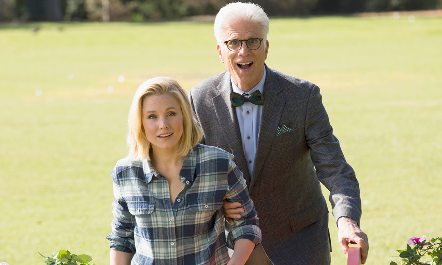 "<span style=""font-size: larger; font-weight: bold;"">THE GOOD PLACE</span><br><span style=""font-size: large;""><strong>PREMIERE</strong> Sept. 19, Global</span>