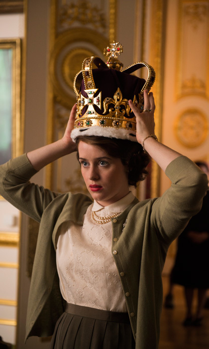"<span style=""font-size: larger; font-weight: bold;"">THE CROWN</span><br><span style=""font-size: large;""><strong>PREMIERE</strong> Nov. 4, Netflix</span>