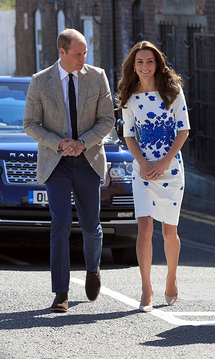 Prince William and Kate have just come back from their summer holiday in France.