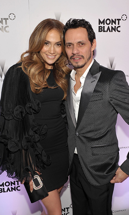 Jennifer and ex-husband Marc Anthony are parents to twins Max and Emme.