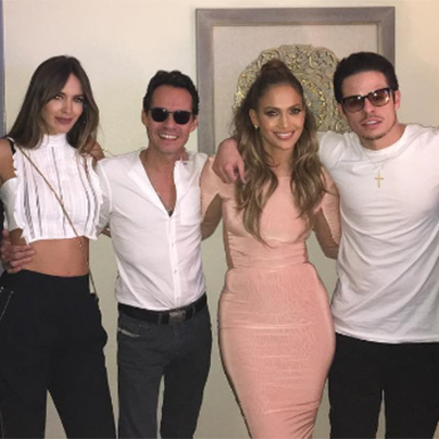 The couple were last pictured together on 13 August, along with Marc Anthony and wife Shannon.