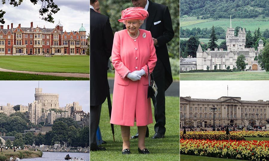 "From Buckingham Palace to Balmoral Castle, we give you a look inside the Queen's most spectacular royal residences. Click through the gallery to find out more about these beautiful castles and homes. (and be sure to watch our <a href=""/royalty/02016051326410/the-queen-s-90th-birthday-the-royal-residences/"" target=""_blank"">royal residences</a> video, too!)"