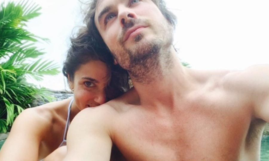 <h3>Nikki Reed and Ian Somerhalder