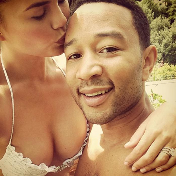 <h3>Chrissy Teigen and John Legend