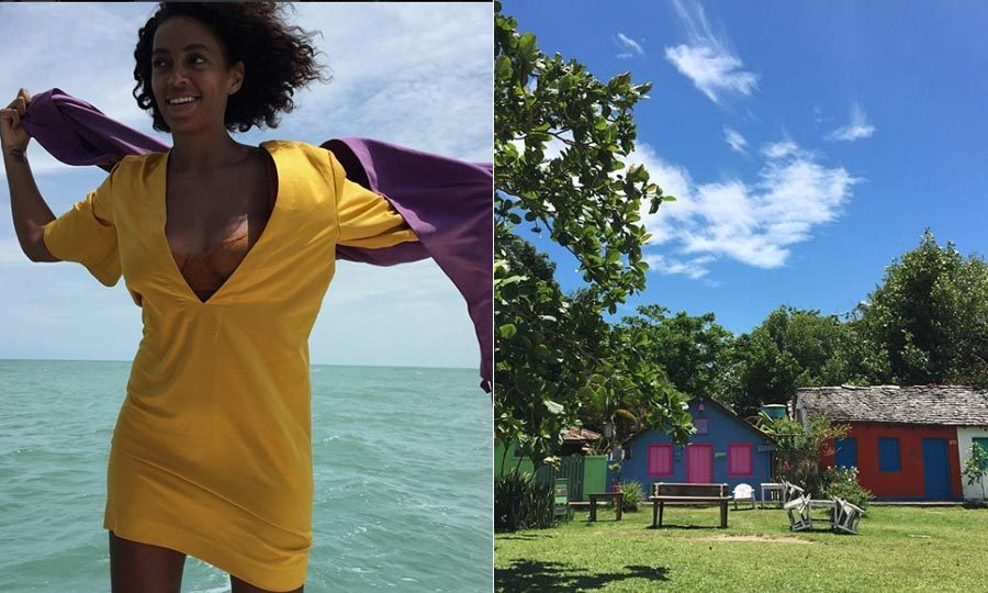 <h3>Solange Knowles and Alan Ferguson