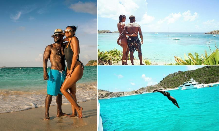 <h3>Kevin Hart and Eniko Parrish