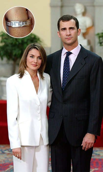 <p>Inside the lavish El Pardo royal palace in Madrid on November 6, 2003, then-Prince Felipe of Spain announced that he was set to marry TV newscaster Letizia Ortiz.