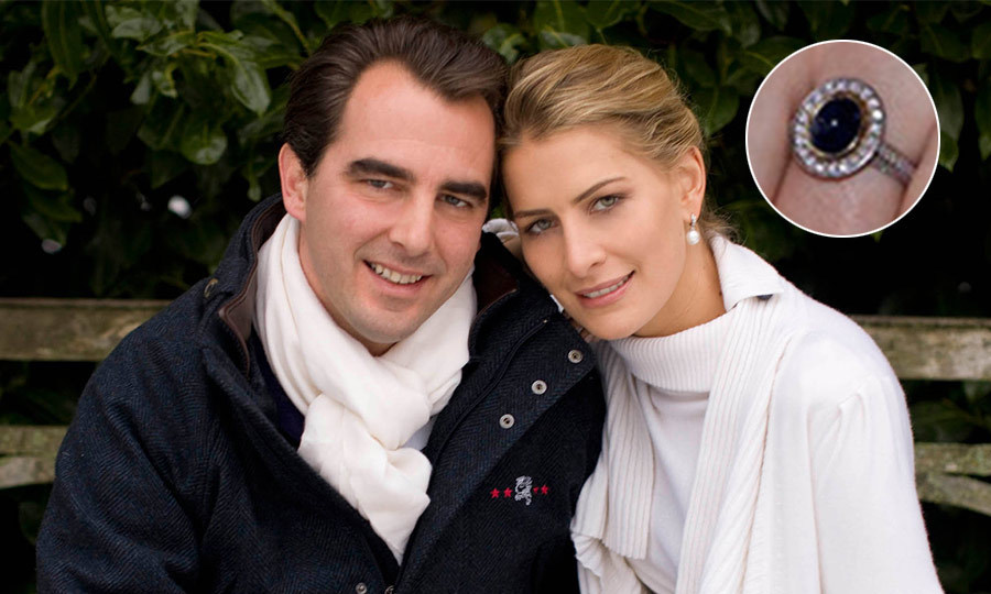 <p>Thrilled to be welcoming a daughter-in-law into the family, HM King Constantine, former King of Greece, was happy to announce the engagement of his son Prince Nikolaos to his girlfriend Tatiana Blatnik on December 28, 2009.