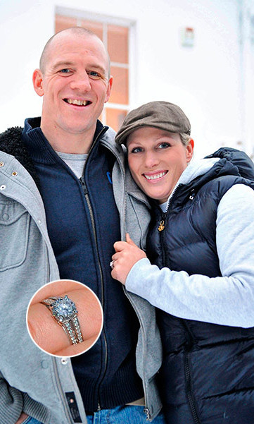 <p>True to form, Zara Philips and boyfriend Mike Tindall kept their engagement announcement low key, as they revealed the happy news wearing jeans and sweatshirts.