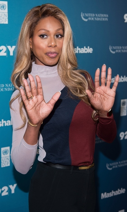 <h3>LAVERNE COX</h3>