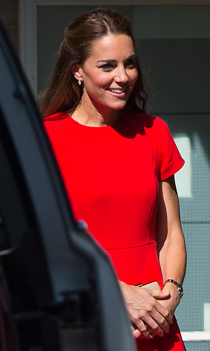 """William and I found it absolutely fascinating,"" said Kate of their visit.