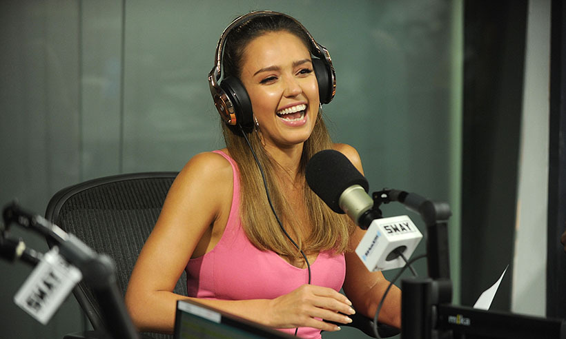 This week, Jessica Alba dropped by the SiriusXM studios in New York City. The actress is busy promoting her new film <i>Mechanic: Resurrection</i>. 