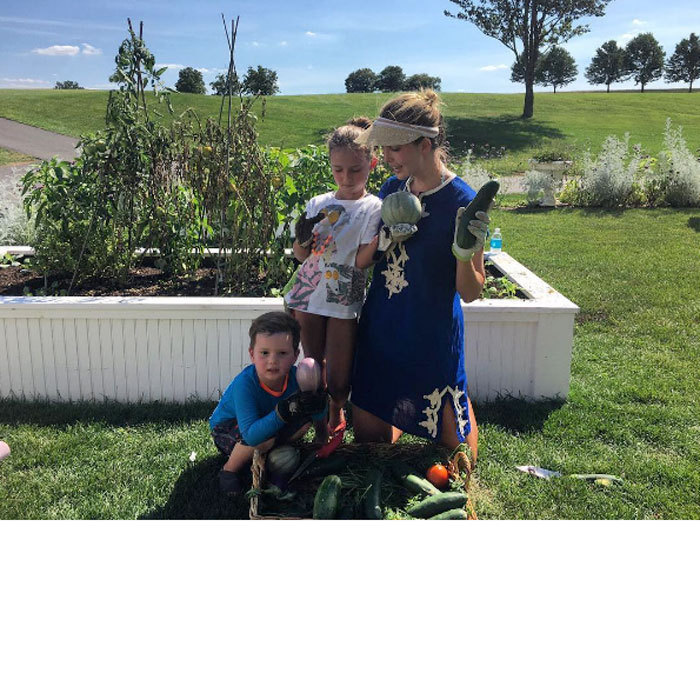 "The mom of three proved that a family that gardens together, stays together! Ivanka and her children Arabella and Joseph put their green thumbs to work on a sunny summer day. Attached to the photo, Donald Trump's daughter wrote, ""There are few things better than spending a hot summer evening in the garden with these next gen green thumbs!""